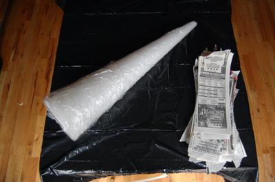 Wrap_cone_in_saran_wrap